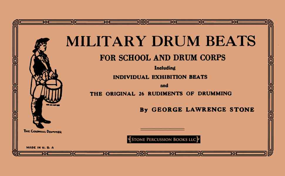 Military Drum Beats By Stone, George Lawrence